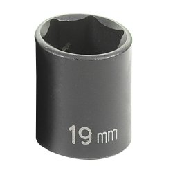 SOC 19MM 3/8D IMP 6PT by Grey Pneumatic