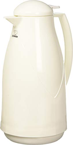 Zojirushi AG-KB10WB Euro Carafe, 1 Liter, White, Made in Japan