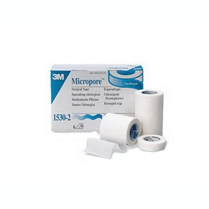 "3M Medical Tape Micropore Paper 1"" X 10 Yards NonSterile (#1530-1, Sold Per Piece)"