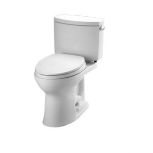 Toto CST454CUFRG#01 Drake II 1G Close Coupled Toilet with...