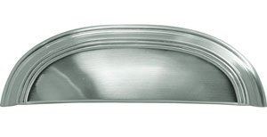 - American Diner Cabinet Pull Handle Finish: Chrome, Size: 3