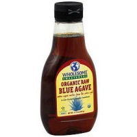 Wholesome Organic Raw Blue Agave - Sweeteners, 11.75 Ounce -- 6 per case.