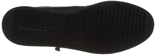 Stringata Nero Geox C9999 Scarpa D826hb Black Donna Iwzg4R