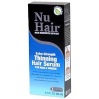 NuHair Extra Strength Thinning Hair Serum For Men and Women - 3.1 fl oz -pack of 1 ()