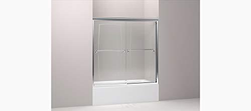 Thick Glass 0.25 Portrait - Kohler 702100-G55-SHP Portrait Sliding Bath Door With 1/4