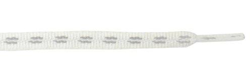 White Flat Magic Shoelaces 45''