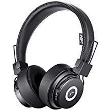 Bluetooth Headphones Over Ear, Hi-Fi Stereo Foldable Over-Ear Headset with Microphone, APP to Control Headphones, Soft Earmuffs Support SD Card FM Radio Wired and Wireless Headset for Kids Adults