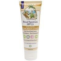 Badger Certified Natural Broad Spectrum Sunscreen - Unscented