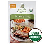 Simply Organic Brown Gravy Mix -- 1 oz (Brown Simply Organic Gravy)