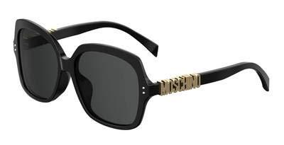 Moschino Women's Logo Full Rim Sunglasses mos 014 fs ()