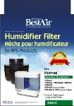 Rps Products H65-C-6 Extended Life Humidifier Wick Filter - Quantity 6 by RPS PRODUCTS