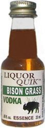 Liquor Quik  Natural Vodka Essence, 20 mL (Bison Grass Vodka)