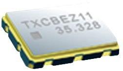 6U-27.000MBE-T-VCXO, 27 MHz, CMOS, SMD, 7mm x 5mm, 3.3 V, 6U Series (10 Pieces)