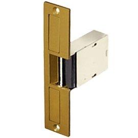 Single Access 12 Door Black (Trine 004-8-16VAC/4-6VDC Mortise Lock Electric Strike (Fail Secure))