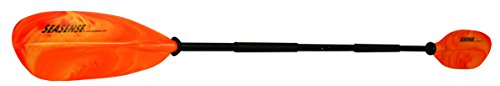 SeaSense X-TREME II Kayak Paddle, 96-Inch, Orange and...