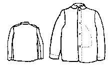 1850s to 1860s Union Sack Coat Pattern (Size Medium, 40-44)