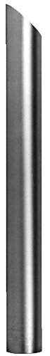 Heavy Duty Manufacturing 2-301-48 Plain Stack Pipe (OD End Straight , Non-Flared - Angle - Cut Stack Angle