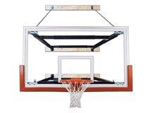 最初チームsupermount80 Victory steel-glass壁マウントバスケットボールsystem44 ;海軍ブルー B01HC0EUV0