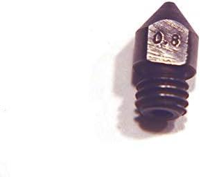 Boquilla de acero endurecido MK8 / CR10 1.75 mm 0.4 y 0.8 mm para ...