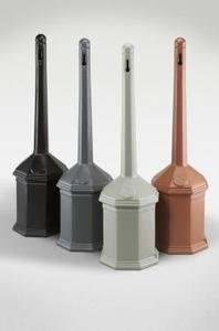 Urn Smokers (Smokers' Outpost Site Saver Cigarette Receptacle Color: Black)