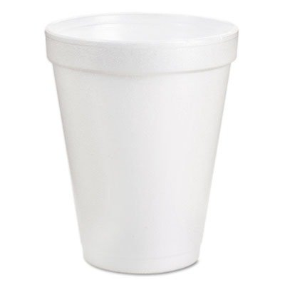 Dartamp;reg; - Drink Foam Cups, 6 oz, White, 40 Bags of 25/Carton - Sold As 1 Carton - For hot and cold beverages. -