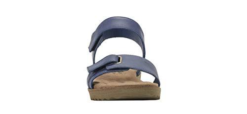 Agata 84702 W Blue Blk Sandali Walking Donna Frauen Silver amp; Cradles us fPq5AwCxay
