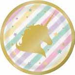 Unicorn Sparkle Paper Dessert Plates (8 ct)