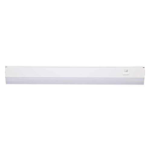 - Good Earth Lighting 24-inch LED Slim Direct Wire Linking Light Bar - 2700K/3400K/4000K White Color Selectable - 50,000 Hours Lamp Life - Dimmable - Energy Star - White