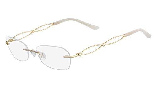 Óculos Airlock Brilliance 203 710 Ouro Lente Tam 51