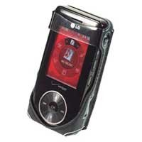 CELLET STINGRAY CASE with DETACHABLE SWIVEL CLIP for LG VX-8500 VX8500 CHOCOLATE