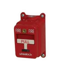 - Wheelock - MPS-400X - Manual pull station, Explosion proof, key reset