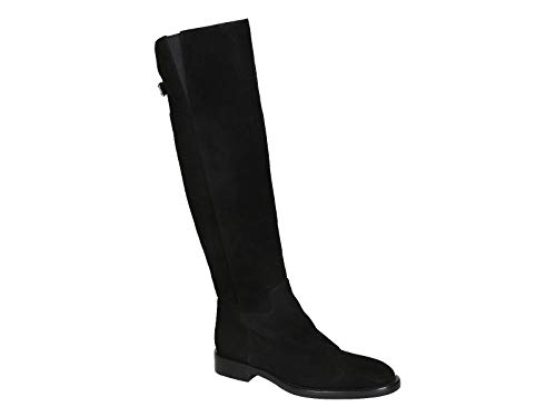 Dolce & Gabbana Women's Black Suede Leather Knee High Boots Shoes - Size: 6.5 US ()