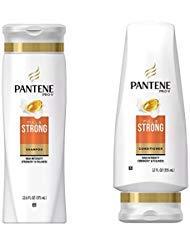 Pantene Pro-V FULL & STRONG Shampoo & Conditioner High Intensity Strength & Fullness ( 2 pack - 12 oz bottle each ) by