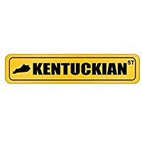 Kentucky STREET SIGN - Usa States - Street Sign [ Decorative Crossing Sign Wall Plaque ]