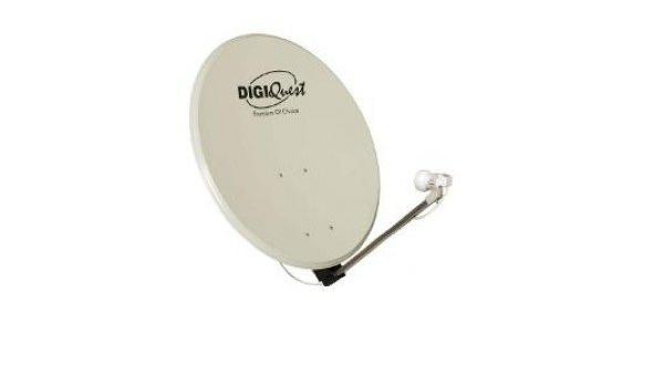 Digiquest kit 012 Antena Parabólica De 80 cm + lnb400: Amazon ...
