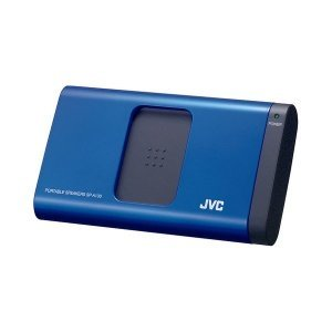 Jvc Portable Audio System For Ipod - JVC SPA130AE Portable Sliding Speaker for iPod/ iPhone and Laptop - Blue