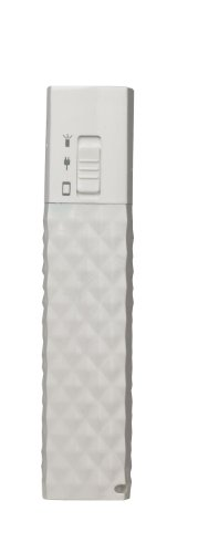 AR for Her ZIPSTICK Rechargeable Power Bank - Quilted White Citizen External Power Supply