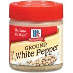McCormick Ground White Pepper 1OZ (Pack of 18)