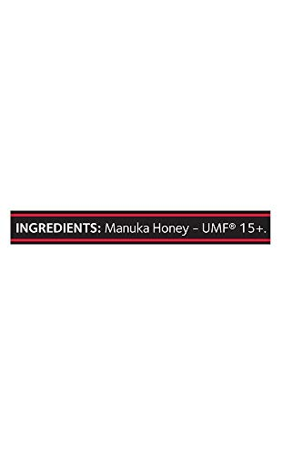 Comvita Certified UMF 15+ (MGO 515+) Manuka Honey I New Zealand's #1 Manuka Brand I Raw, Non-GMO, Halal, Kosher | Super Premium Grade (8.8 oz)