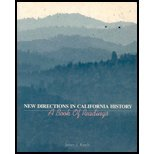 New Directions In California History: A Book of Readings
