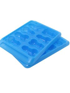 Hott Products Blue Balls Pecker Ice Cube Tray