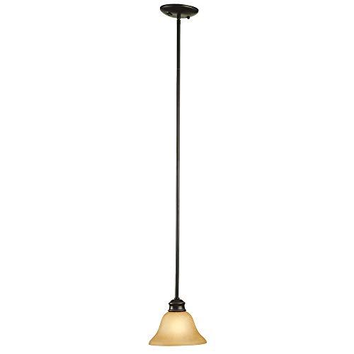 Design House 509026 Bristol 1 Light Mini Pendant, Oil Rubbed Bronze ()