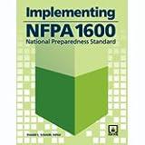 Implementing NFPA 1600, Donald L. Schmidt, 0877657211