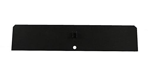 Vestal Replacement Steel Damper Plate Painted Black-34.5