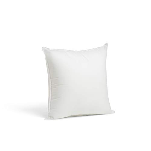 12 Inch Square Toss Pillow - Foamily Premium Hypoallergenic Stuffer Pillow Insert Sham Square Form Polyester, 12