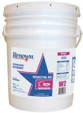 Renown REN02766-MS Penetrol Dish Detergent for Restaurant