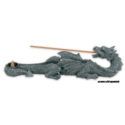 King Incense Burner (Dragon Incense Holder Collectible Scent Aroma Burner)