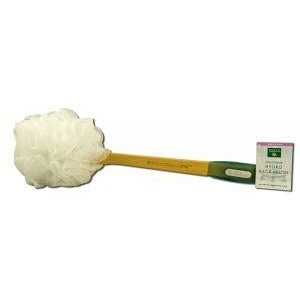 Earth Therapeutics Hydro Back Brush White - 1 Brush- Pack of 1 by Earth (Hydro Back Brush)