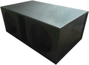 Atrend Spl-15D Atrend Series 15-Inch Dual Vented Super Bass Spl Enclosure with Bed Liner Finish