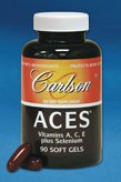 Carlson Labs – ACES + Zn 60 gels For Sale